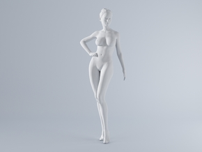 Mini Sexy Woman 036 1/64 in Frosted Ultra Detail: 1:64 - S