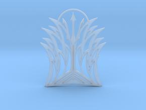 Poseidon Pendant in Smooth Fine Detail Plastic