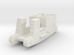 1/144 Gun Carrier Mk.I Supply in White Natural Versatile Plastic
