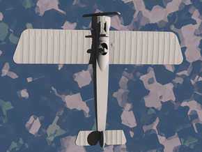Fokker E.IV in White Natural Versatile Plastic: 1:144