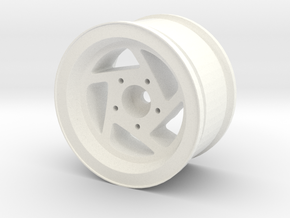 RH Wheel 1.7 in White Processed Versatile Plastic