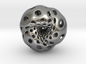Octahedron Hopf preimage (edges) in Natural Silver