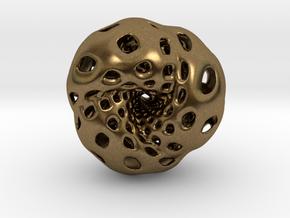 Octahedron Hopf preimage (edges) in Natural Bronze