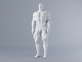 Mini Strong Man 1/64 024 in Frosted Ultra Detail: 1:64 - S