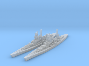 Scharnhorst and Gneisenau in Frosted Ultra Detail