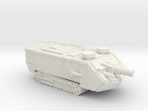 Saint Assault Tank in White Natural Versatile Plastic
