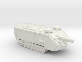 Saint Assault Tank in White Strong & Flexible