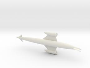 1/700 SKYLON UK SSTO SPACE PLANE in White Natural Versatile Plastic
