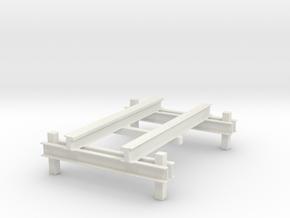 RMC IBox Roller Coaster Model in White Natural Versatile Plastic