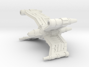 Crosswing Superiority Fighter in White Strong & Flexible