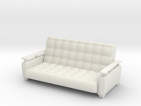 Printle Thing Sofa 04 - 1/24 in White Natural Versatile Plastic