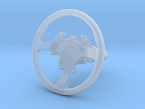 Steering Wheel P-RSR-Type - 1/10 in Smooth Fine Detail Plastic