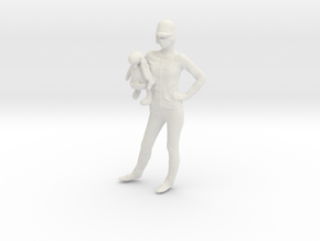 Printle C Femme 034 - 1/56 - wob in White Strong & Flexible