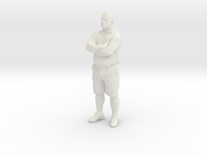 Printle C Homme 407 - 1/24 - wob in White Natural Versatile Plastic