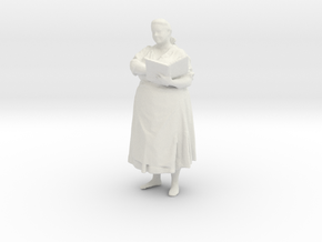 Printle C Femme 039 - 1/43 -wob in White Strong & Flexible