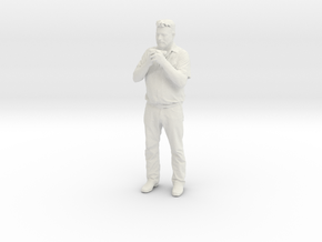 Printle C Homme 411 - 1/24 - wob in White Strong & Flexible