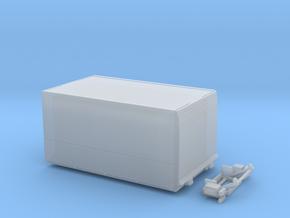 Gerätewagen Schwenkwand Betreuung in Smooth Fine Detail Plastic