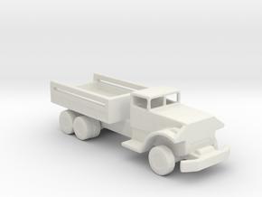 1/200 Scale White 666 Cargo Truck in White Natural Versatile Plastic