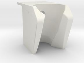 Dental Handpiece Holder  in White Natural Versatile Plastic: Large