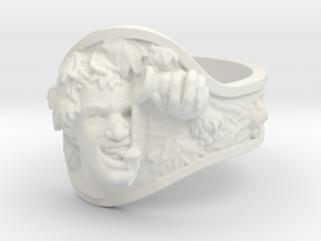 Vice|Bachus Ring Size 11 in White Natural Versatile Plastic