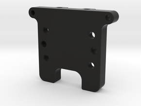 GF5 Rear Bulkhead in Black Natural Versatile Plastic