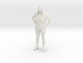 Printle C Femme 043 - 1/43 - wob in White Strong & Flexible