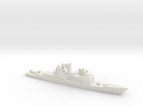 USS Ticonderoga (CG-47), 1/3000 in White Natural Versatile Plastic