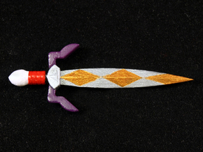 Gilded Sword in Smooth Fine Detail Plastic