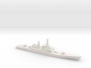 USS CGN-38 Virginia, 1/3000 in White Natural Versatile Plastic