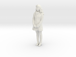 Printle C Femme 010 - 1/35 - wob in White Strong & Flexible
