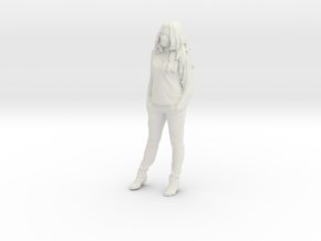 Printle C Femme 012 - 1/35 - wob in White Strong & Flexible