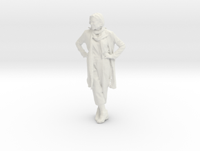 Printle C Femme 011 - 1/24 - wob in White Strong & Flexible