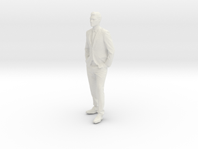 Printle C Homme 005 - 1/32 - wob in White Strong & Flexible