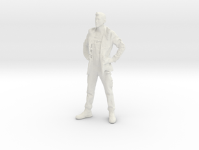 Printle C Homme 008 - 1/32 - wob in White Strong & Flexible