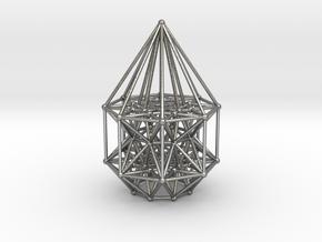 Tesseract Matrix Stargate in Raw Silver