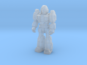 Diaclone Trooper, at attention 35mm Mini in Smooth Fine Detail Plastic