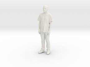 Printle C Homme 080 - 1/72 - wob in White Natural Versatile Plastic