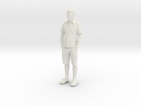 Printle C Homme 104 - 1/72 - wob in White Natural Versatile Plastic