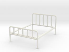 1-12 Iron (Bed Not full size) in White Natural Versatile Plastic