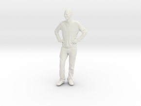 Printle C Homme 096 - 1/72 - wob in White Strong & Flexible