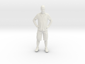 Printle C Homme 134 - 1/72 - wob in White Strong & Flexible