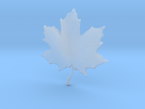 Maple Leaf in Smooth Fine Detail Plastic