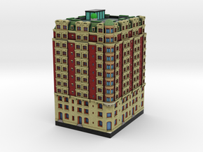 New York Set 1 Hotel 3 x 2 in Full Color Sandstone