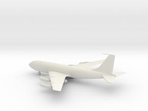 Boeing 707 in White Natural Versatile Plastic: 1:285 - 6mm