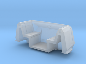 Peoplemover Half 2 in 1:24 in Smooth Fine Detail Plastic