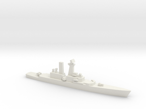 USS Truxtun (CGN-35), 1/3000 in White Strong & Flexible