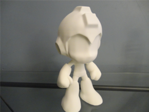 MegaMan 10 Inch WSF in White Natural Versatile Plastic