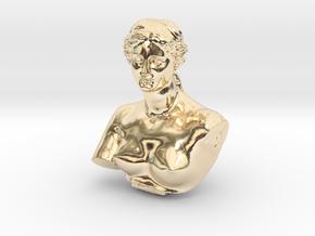 Venus de Milo in 14K Yellow Gold: Medium
