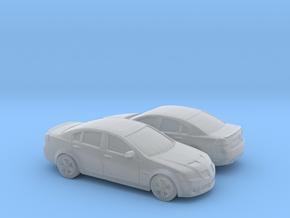 1/160 2X 2007-09 Pontiac G8 Sedan in Frosted Ultra Detail