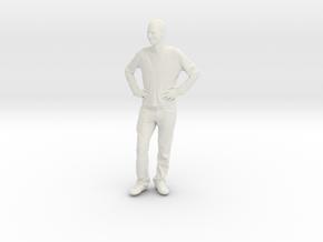 Printle C Homme 096 - 1/64 - wob in White Natural Versatile Plastic